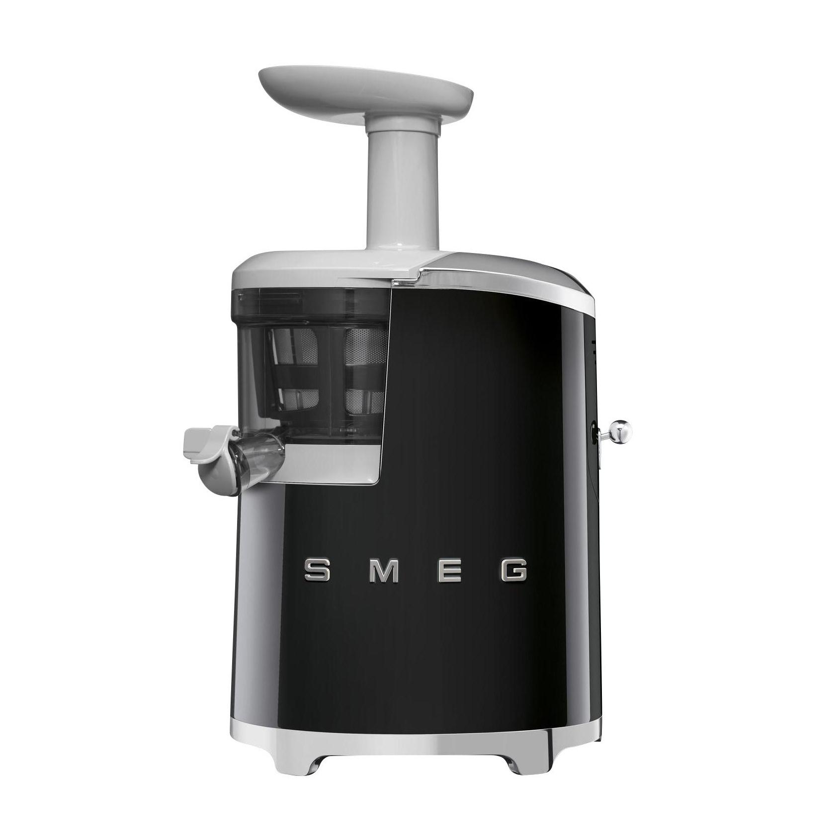 Smeg - SJF01 Slow Juicer Entsafter - schwarz/lackiert/BxHxT 27x42x17cm/mit Rezeptbuch | Küche und Esszimmer > Küchengeräte > Entsafter | Smeg