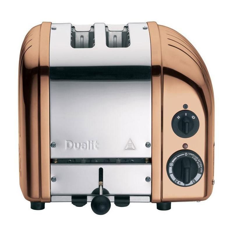 Dualit Classic NewGen Vario 2 Toaster - kupfer/poliert/handgefertigt | Küche und Esszimmer > Küchengeräte > Toaster | Kupfer | Metal| aluminium | Dualit