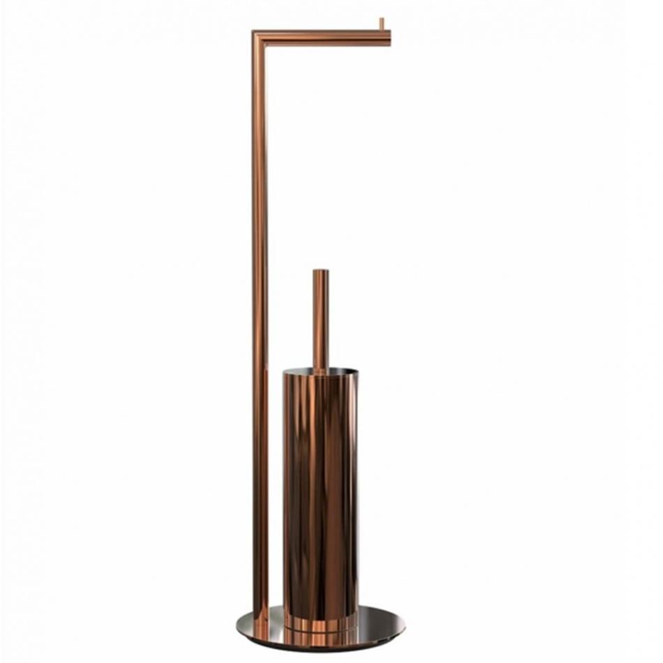 FROST - Nova2 WC-Garnitur/Toilettenbutler - kupfer/H 71|5cm/Ø 20cm | Bad > Bad-Accessoires | FROST