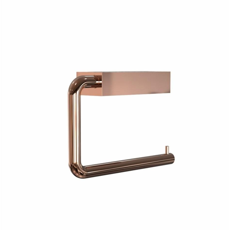 FROST - Quadra WC-Rollenhalter - kupfer/BxHxT 14|5x10x3|6cm | Bad > Bad-Accessoires > Toilettenpapierhalter | FROST