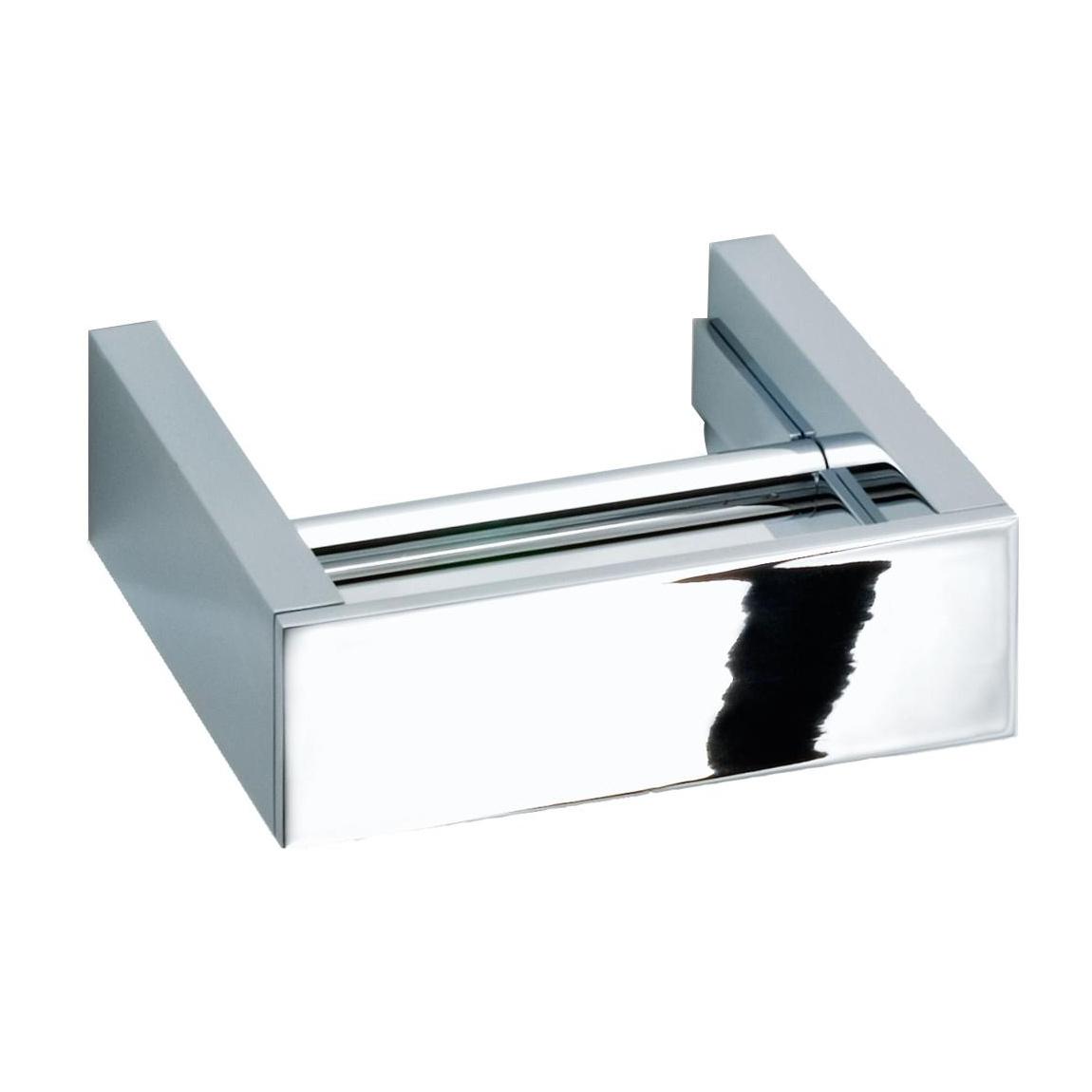 Decor Walther - Brick BK TPH5 Toilettenpapierhalter - chrom/glänzend/BxHxT 15x5x13|5cm | Bad > Bad-Accessoires > Toilettenpapierhalter | Chrom | Chrom | Decor Walther