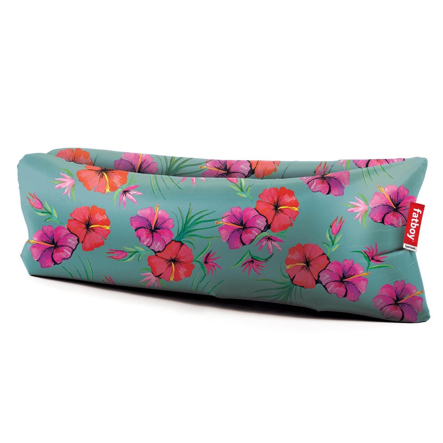 Fatboy - Lamzac the Original - Outdoor sofa 2.0 - bleu hawaii/nylon/LxPxH 200x50x90cm/gonflé en quelques secondes