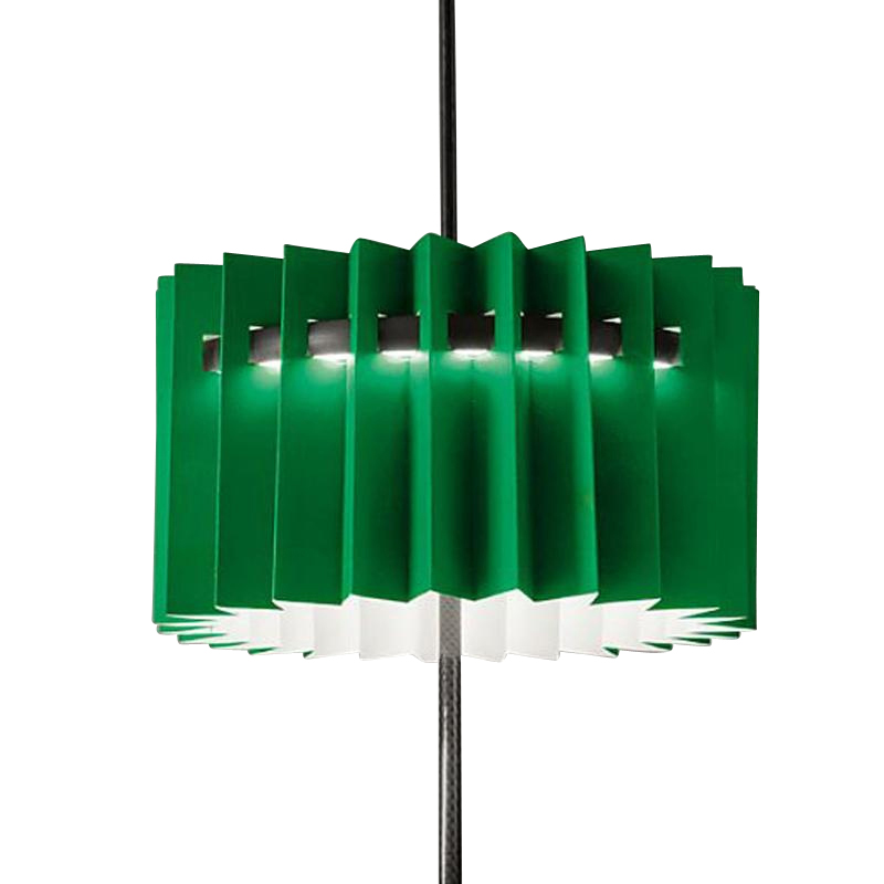 Ingo Maurer - Abat-jour Frivoloso - vert/pour Ringelpiez/H 15cm/Ø 26cm
