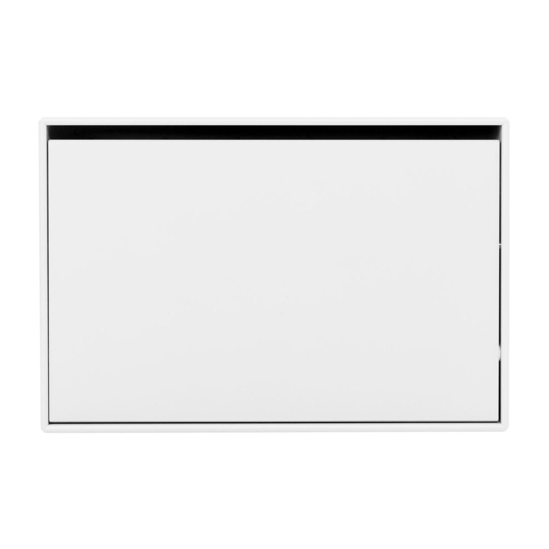 Montana - Hide Schuhschrank Tiefe 20cm - new white 101/mit Kipptür/BxHxT 69.6x46.8x20cm | Flur & Diele > Schuhschränke und Kommoden | Montana