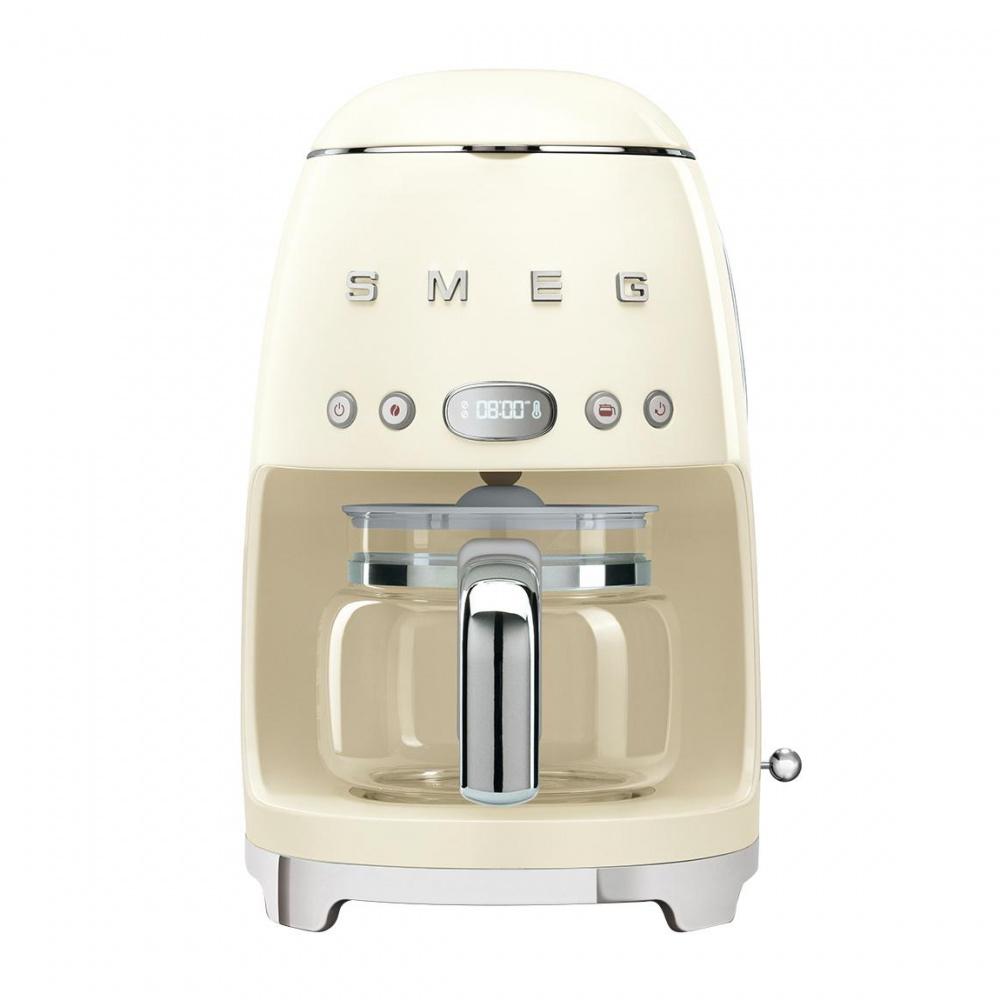 Smeg - DCF02 Filterkaffeemaschine - creme/lackiert/BxHxT 25|6x36|1x24|5cm/für 10 Tassen | Küche und Esszimmer > Kaffee und Tee > Kaffeemaschinen | Smeg