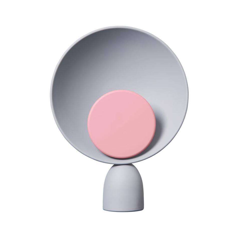 PLEASE WAIT to be SEATED - Blooper - Lampe de table LED - gris cendré/rouge indien/avec gradateur/2900K