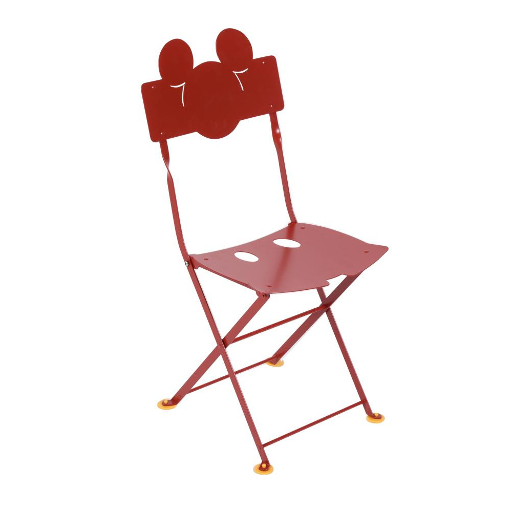 Fermob - Mickey Mouse© Bistro Kinderstuhl - mohnrot/glatt/BxHxT 33|2x71|5x38|8cm/UV-beständig | Kinderzimmer > Kinderzimmerstühle > Kinderstühle | Fermob
