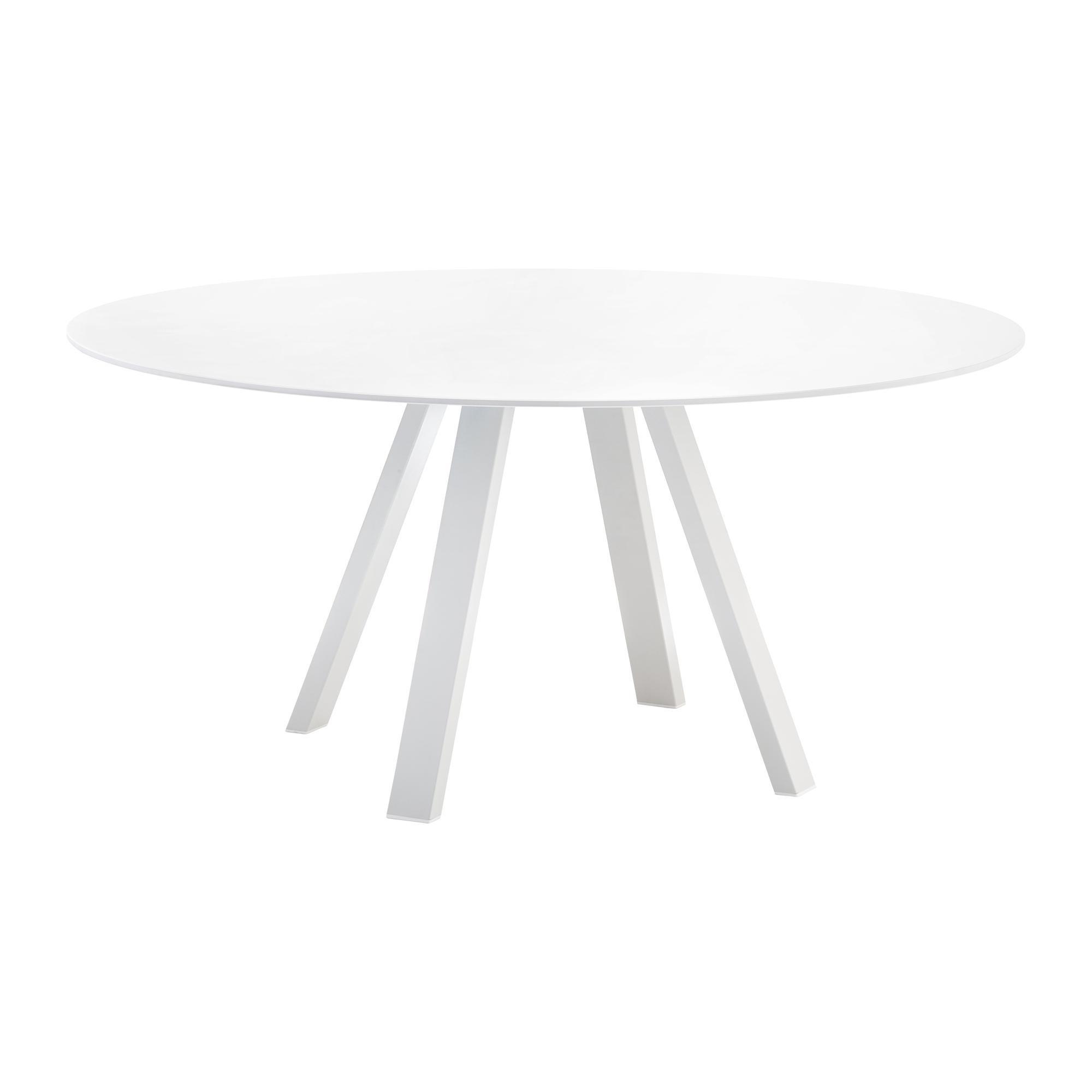 weiss laminat aluminium Esstische online kaufen | Möbel