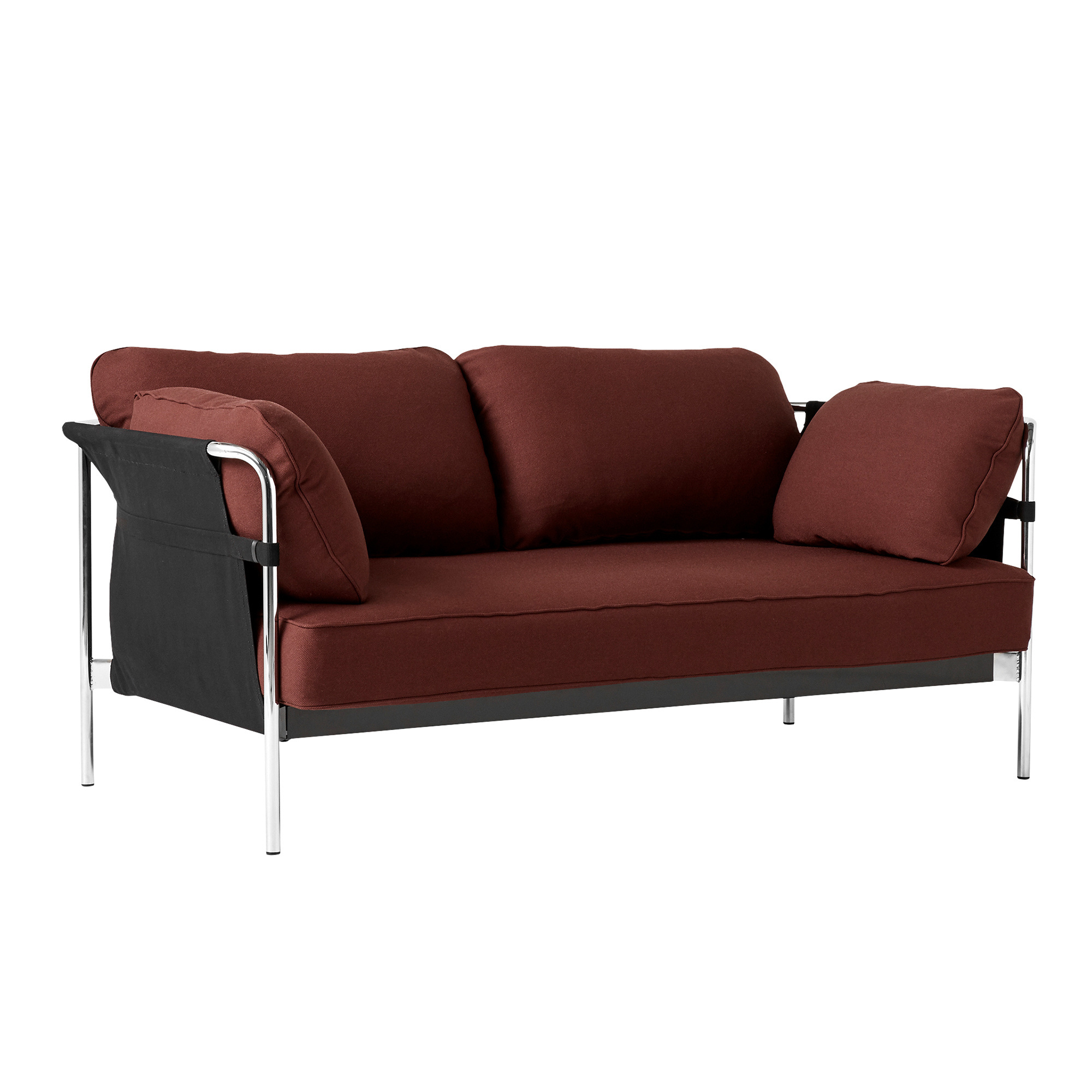 B/üro Sofagarnitur Couch 2-er Wohnzimmer Velours Stoff Braun Holzf/ü/ße Cosmic 70 Sofa Kera 2-Sitzer Loungesofa