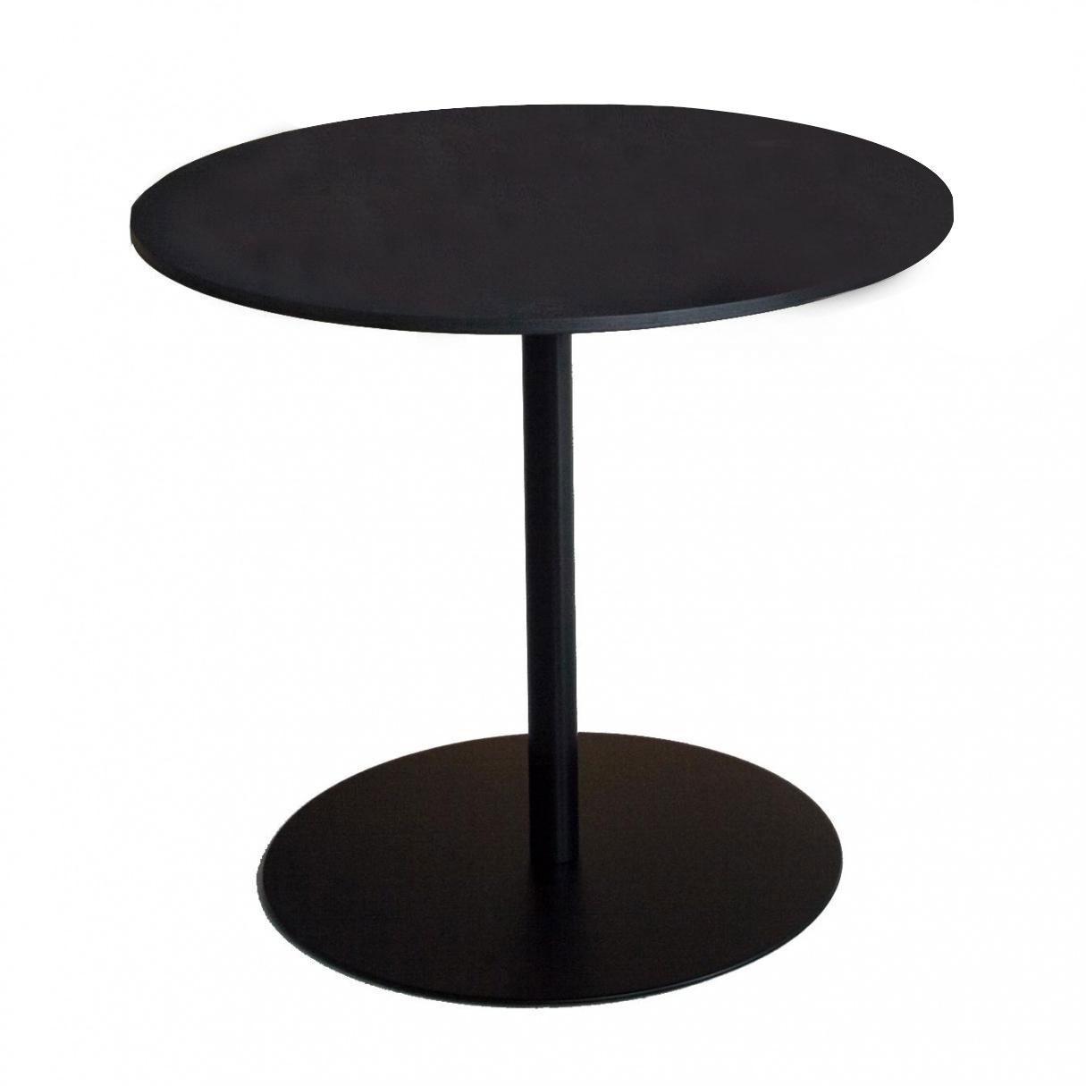 Lapalma - Brio Fix Bistrotisch Gestell schwarz H 72cm - schwarz/H 72cm / Ø 60cm/Tischplatte HPL | Kinderzimmer > Spielzeuge > Holzspielzeuge | Schwarz | Edelstahl| hpl | Lapalma