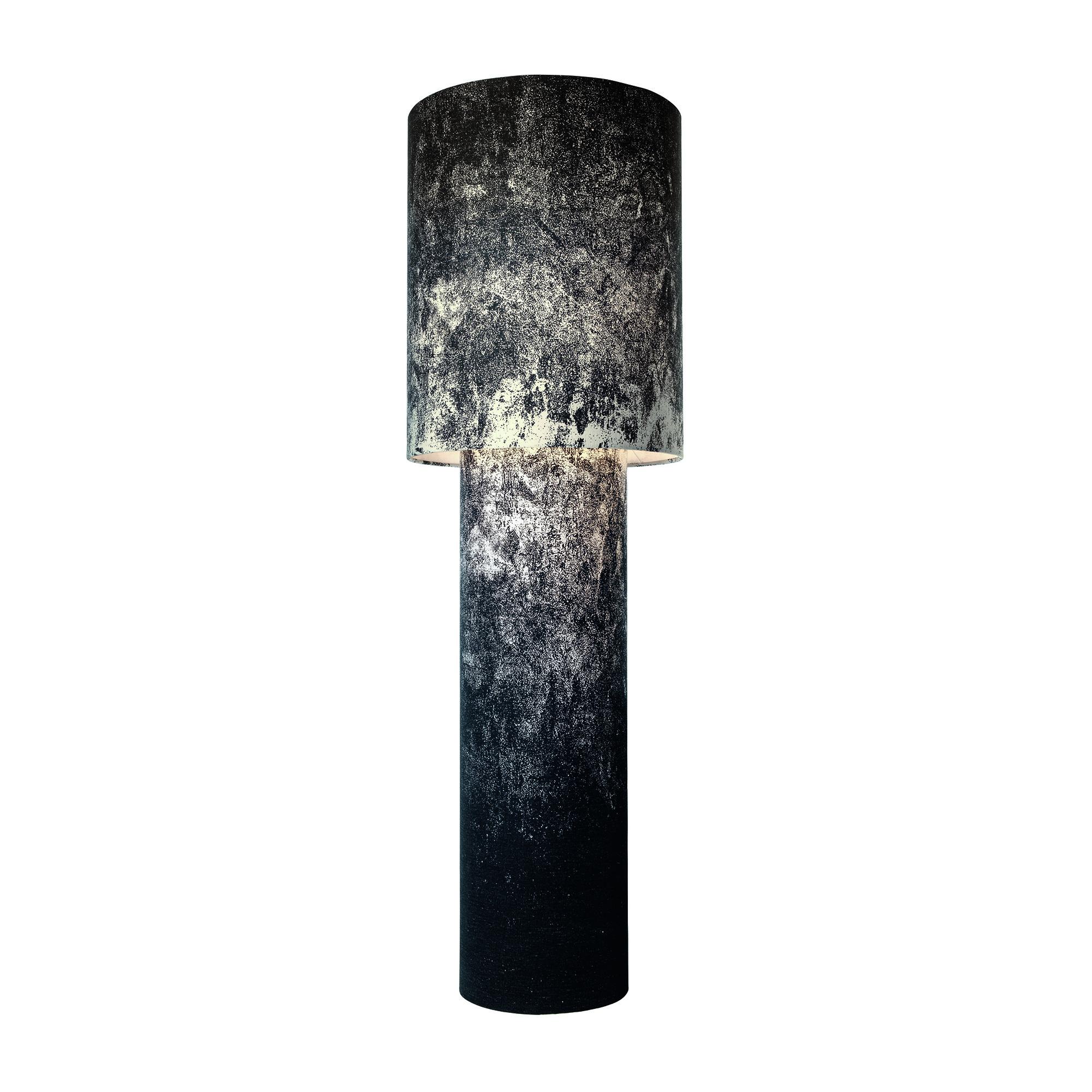 Diesel - Lampadaire Pipe Grande H 183cm - noir/lin avec un couche polymère/H x Ø 183x59cm/avec variateur