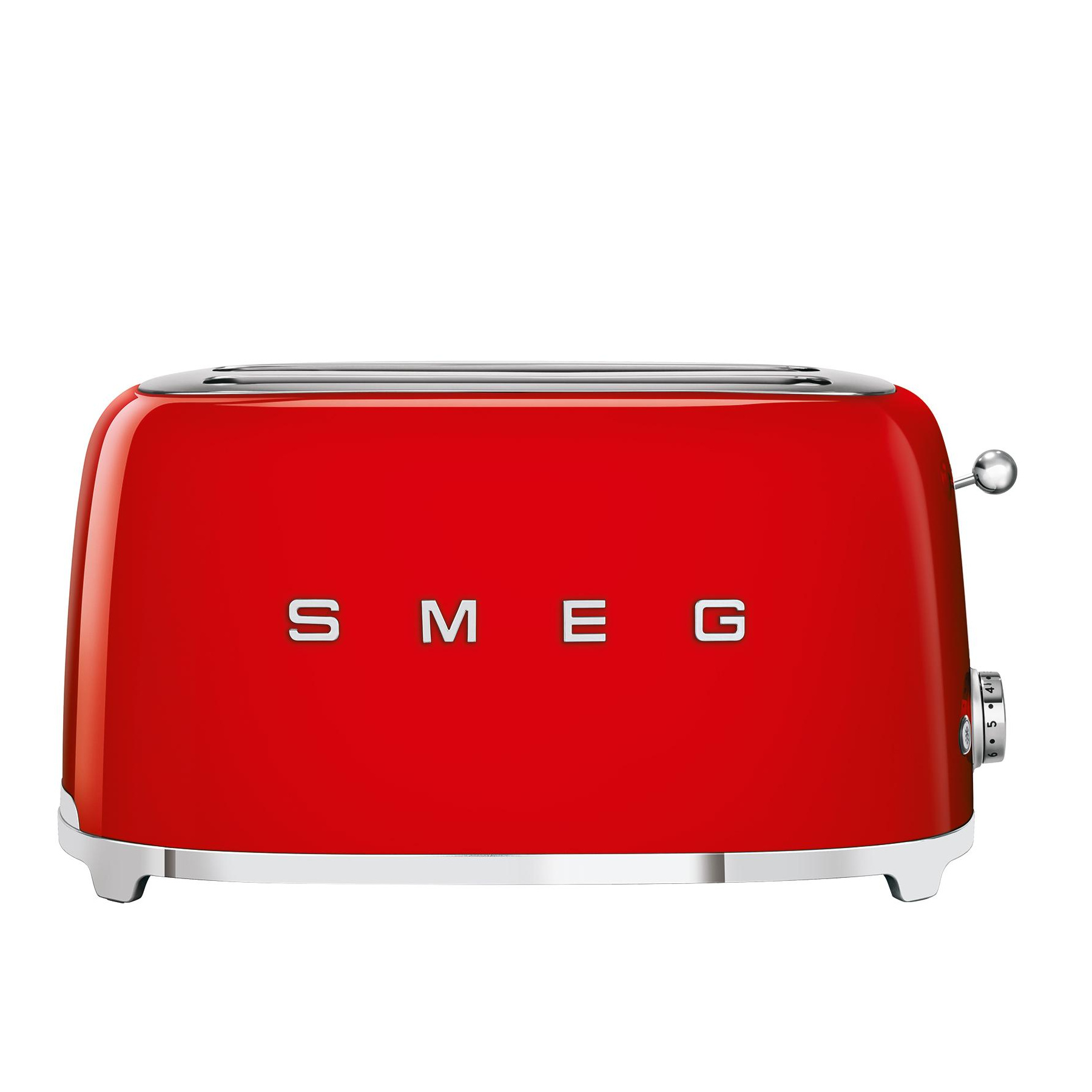 rot glänzend Grundig Toaster TA 4620 R