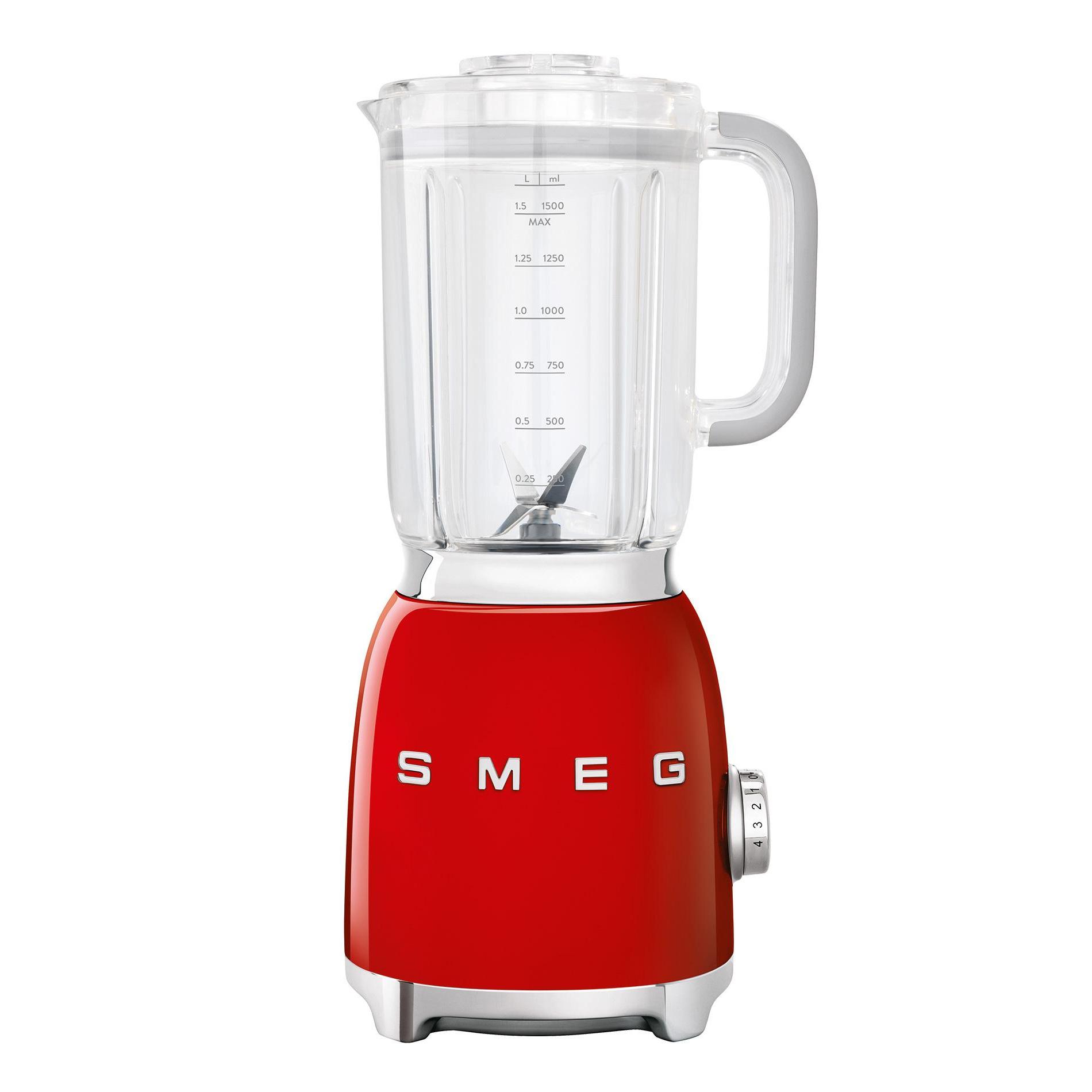 Smeg - BLF01 Standmixer 1|5L - rot/lackiert/BxHxT 16|3x39|7x19|7cm | Küche und Esszimmer > Küchengeräte | Smeg