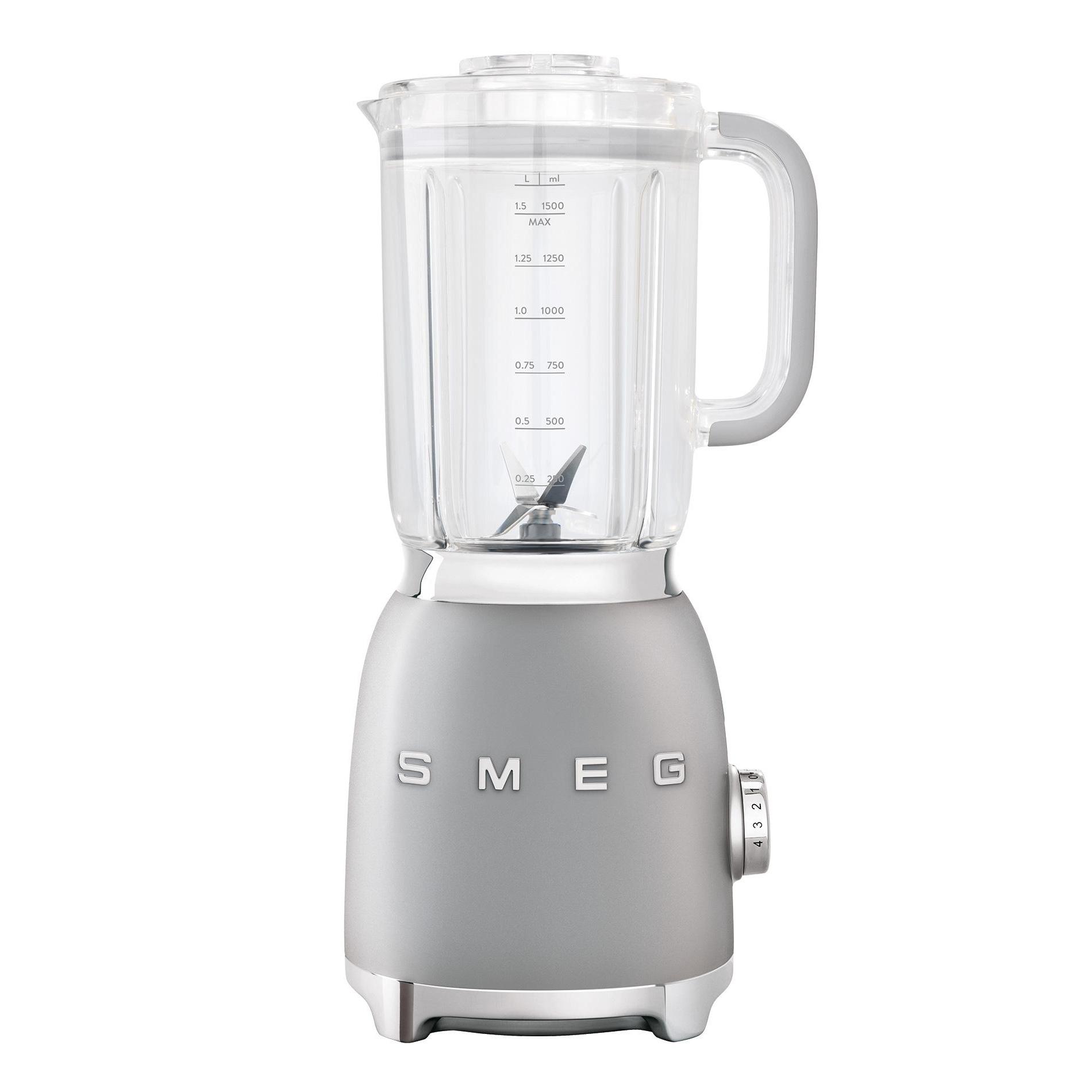 Smeg - BLF01 Standmixer 1|5L - polarsilbermetallic/lackiert/BxHxT 16|3x39|7x19|7cm | Küche und Esszimmer > Küchengeräte > Rührgeräte und Mixer | Smeg