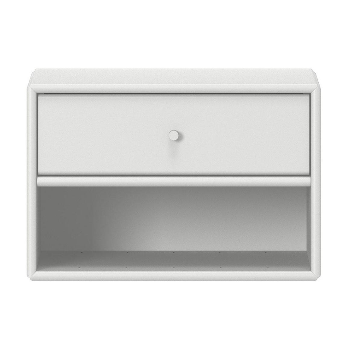 Montana - Dash Nachttisch - new white 101/lackiert/BxHxT 35|4x24x30cm | Schlafzimmer > Nachttische | New white 101 | Mdf platte | Montana