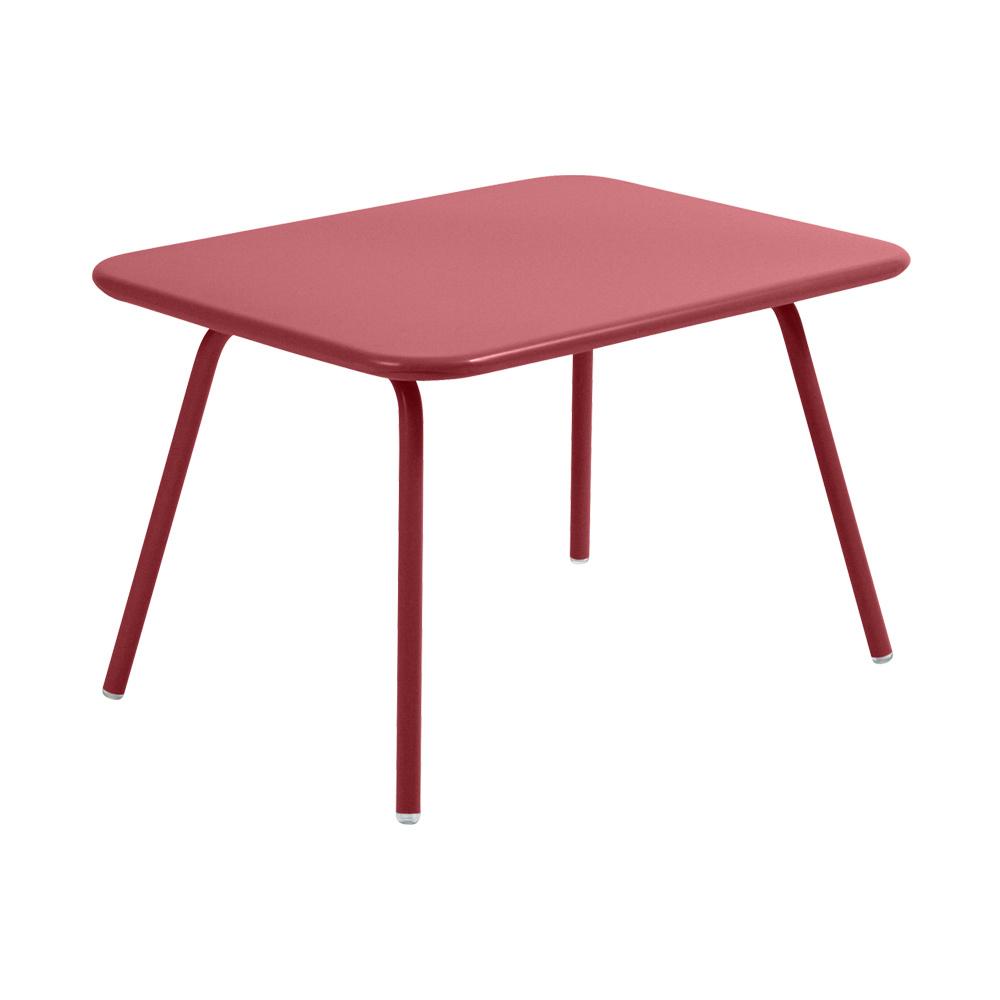 Fermob - Luxembourg Kid Kindertisch - chili/texturiert/LxBxH 76x55|5x47cm/UV-beständig | Kinderzimmer > Kindertische > Spieltische | Fermob