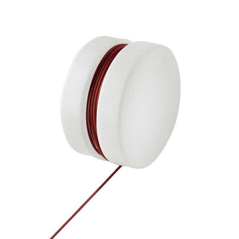 Authentics - Lampe à poser de jardin YoYo - blanc/rouge/HxP 47,5x28cm