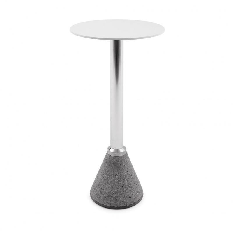 Magis - Table One Bistrot Stehtisch - weiß/poliert | Küche und Esszimmer > Bar-Möbel > Bar-Stehtische | Weiß | Zement| aluminium| hpl-laminat | Magis