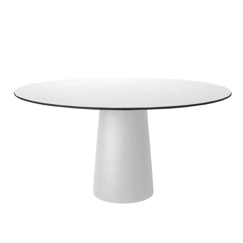 Moooi - Container Tisch rund - weiß/HPL Laminat/Ø120cm   Baumarkt > Bodenbeläge > Laminat   Moooi