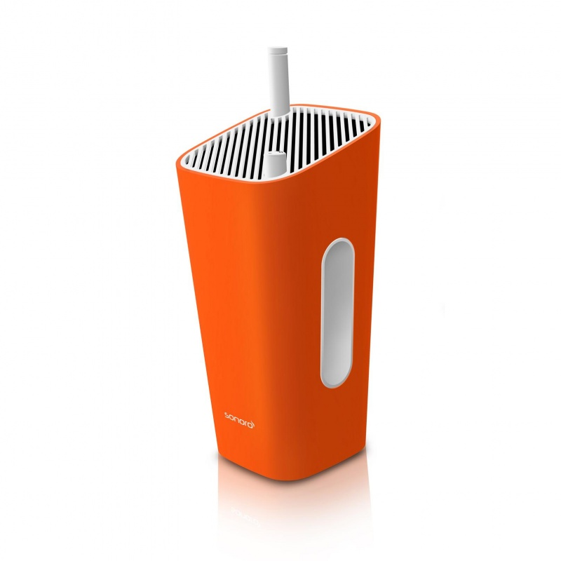 Sonoro Audio - CuboGo Indoor/Outdoor Radio - blanc/blanc