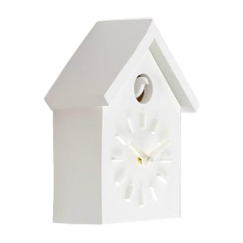 Magis - Cu-Clock Kuckucksuhr - weiß | Dekoration > Uhren > Kuckucksuhren | Weiß | Kunststoff | Magis