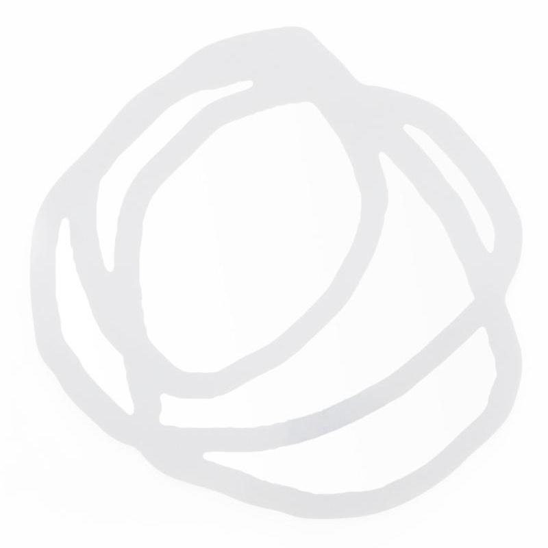 Gervasoni - Sweet 97 Spiegel - weiß/BxH 150x150cm | Flur & Diele > Spiegel > Wandspiegel | Weiß | Spiegelglas | Gervasoni