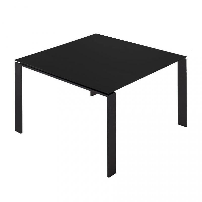 schwarz laminat lackierter stahl aluminium Esstische online