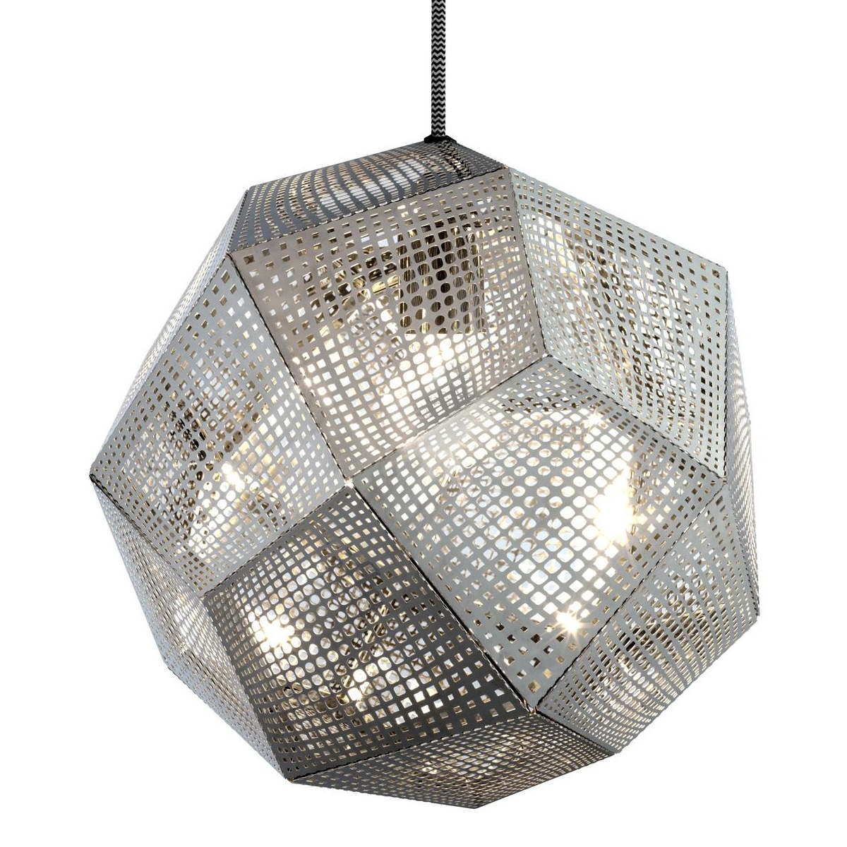 Tom Dixon - Etch Shade Suspension Lamp Ã32cm - stainless steel